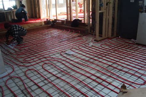 heated tile floors radiant floor heating for your electric radiant floor heating basics cost pros cons