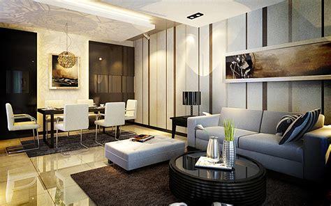wallpapers living room  stylish interior