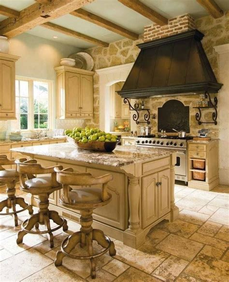 French Country Style Kitchen | create a classic french rustic country style kitchen