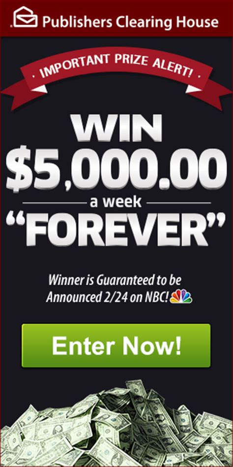 Pch 5000 A Week For Life 2017 Winner - will you become our next forever prize winner pch blog