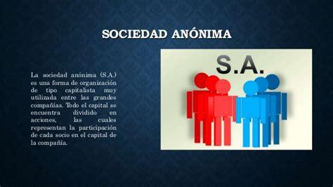 liquidacion de una sociedad anonima de capital variable presentacion economia sociedad anonima