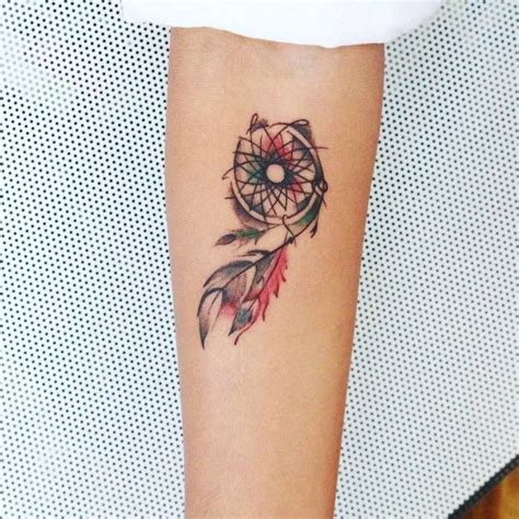 25 best ideas about small dreamcatcher tattoo on