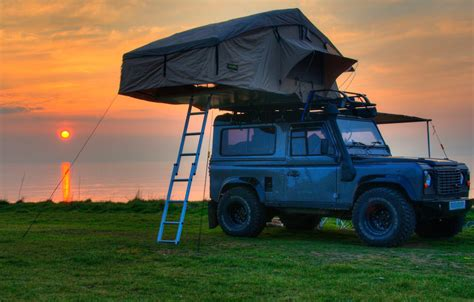 land rover experience defender land rover defender 90 110 expedition roof tent with