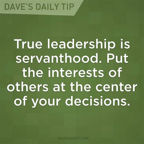 so you want to be a servant leader someone tell me quot servant leadership quot
