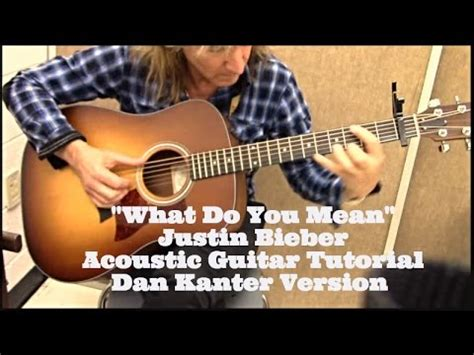 tutorial guitar what do you mean quot what do you mean quot by justin bieber acoustic guitar