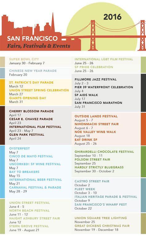 San Francisco Events Calendar Real Data Sf