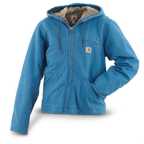 Women S Carhartt 174 Sandstone Sierra Jacket Blue Topaz