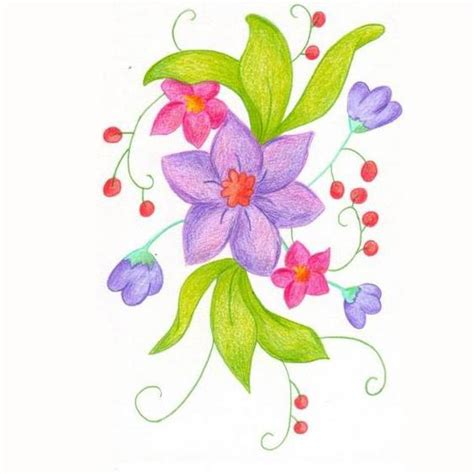 imagenes flores vectorizadas dibujos de flores dibujos de flores para ni 241 os