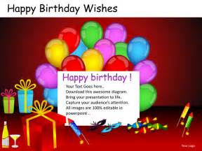birthday powerpoint template happy birthday wishes powerpoint presentation templates