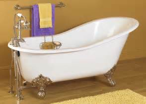 Bathtub Supplies Slipper Style Cast Iron Clawfoot Tubs