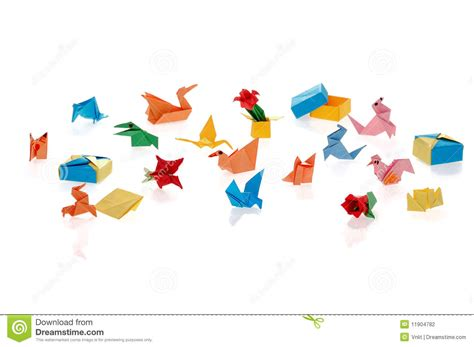 Tiny Origami - tiny origami stock photography image 11904782
