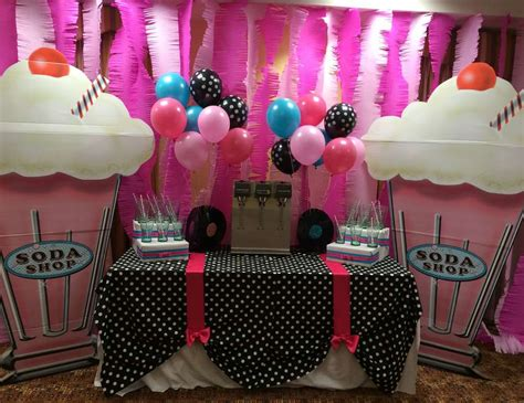 party themes yahoo 50 s theme sock hop birthday quot 80th birthday 50 s theme