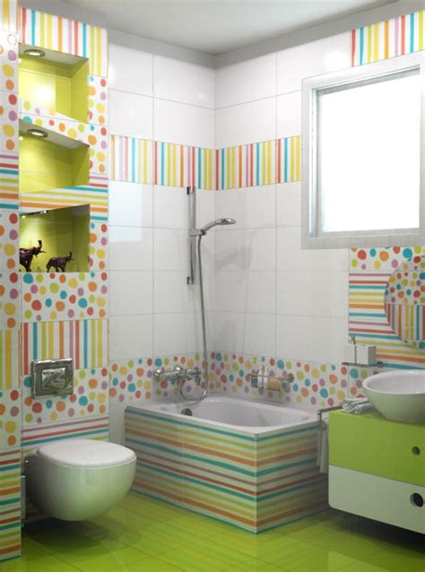children s bathroom tiles 30 colorful and fun kids bathroom ideas