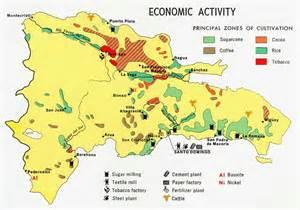 economic map of republic economic activity map