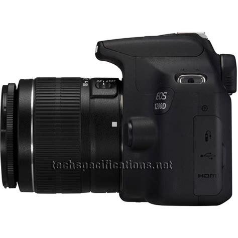 dslr specifications canon eos 1200d dslr tech specs