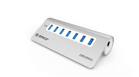 Orico Usb Hub 3 0 Almunium orico m3h10 aluminum 10 port usb 3 0 hub with power adapter for mac buy usb 3 0 hub 10 port