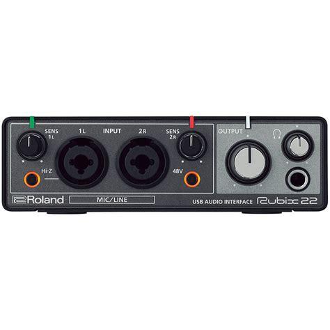 Daftar Audio Interface Usb roland rubix22 171 audio interface