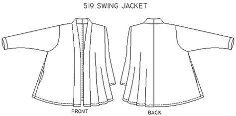 swing coat pattern free christine jonson 519 swing jacket