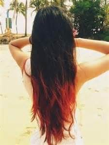 tips on the bottom of hair dip dye hairstyles on pinterest graduated hair blue dip