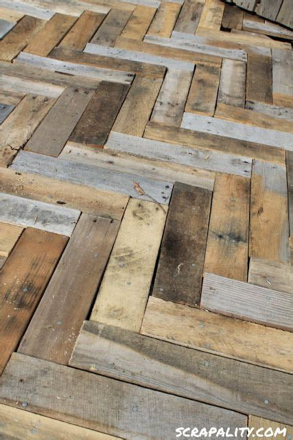 Pallet Board Flooring by Scrapality Deck Made From Pallets It Chez Moi