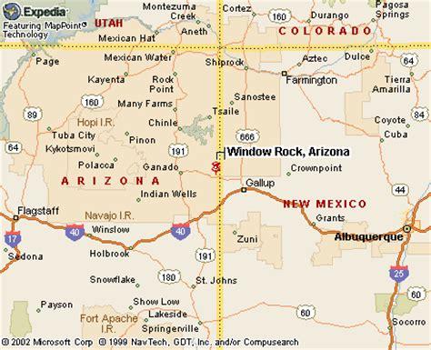 window rock arizona map canku ota april 17 2004 spirit of the mountains