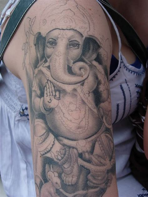 ganesh tattoos designs ganesh on back