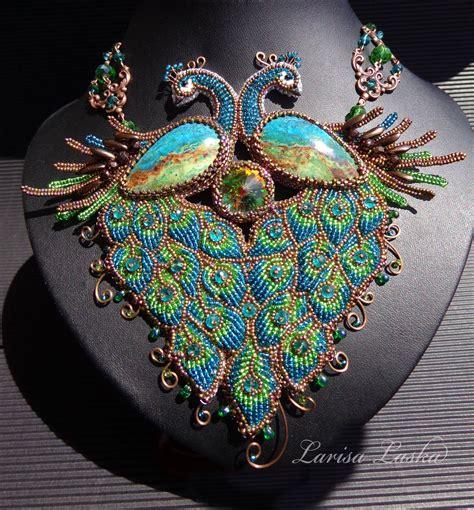 beadwork necklace bead embroidery beadwork embro