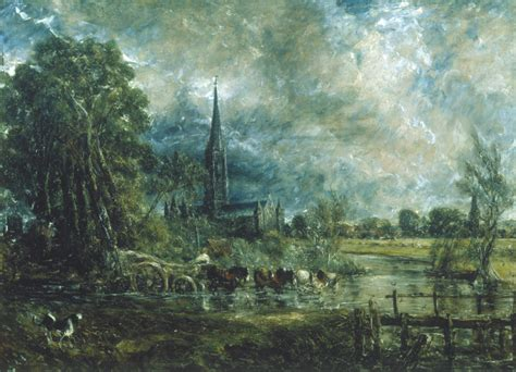 by john constable salisbury cathedral salisbury cathedral wiltshire from the meadows 1831 by