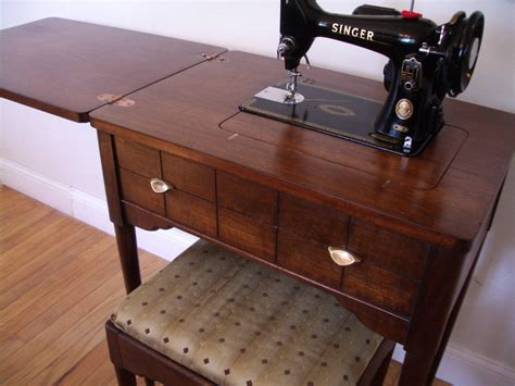 sewing machine cabinet singer singer 99k sewing machine and cabinet set 1955
