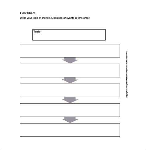 fillable flow chart template flow chart template 30 free word excel pdf free