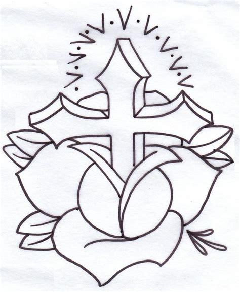 how to draw a cross tattoo iron cross black cross