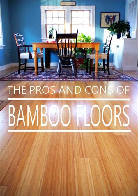 Pros and Cons of Bamboo Floors   Plaster & Disaster