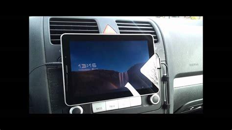 galaxy tab  velcro car mount youtube