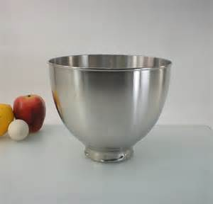 kitchenaid k45 stainless steel mixer mixing bowl by