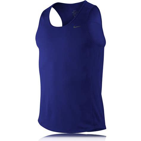 Running Singlet S Nike nike dri fit miler singlet running vest sportsshoes
