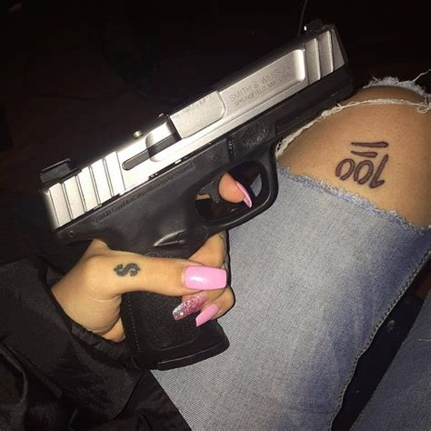 rebel tattoo gun jeans image 4256547 by