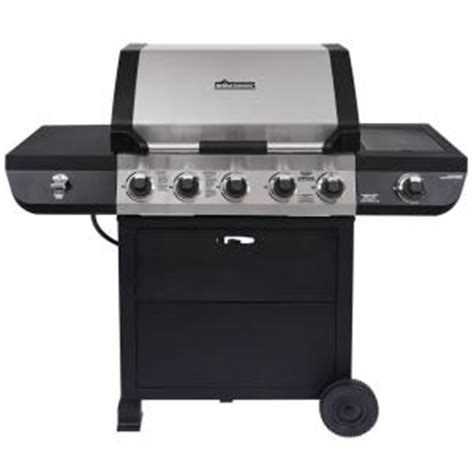 brinkmann 5 burner propane gas grill 810 2511 s the home