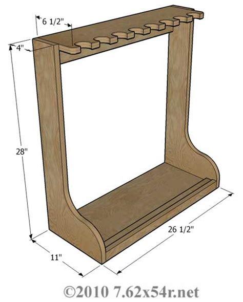 gun rack woodworking plans gun rack plans horizontal plans free