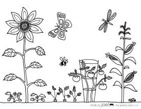 garden coloring free coloring pages of gardening tools