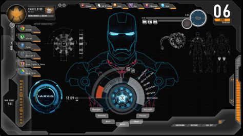 firefox iron man themes iron man windows desktop theme the geek zone