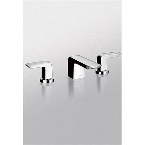 Toto Bathroom Fixtures Toto Soir 233 E 174 Widespread Lavatory Faucet 1 5 Gpm Free Shipping Modern Bathroom