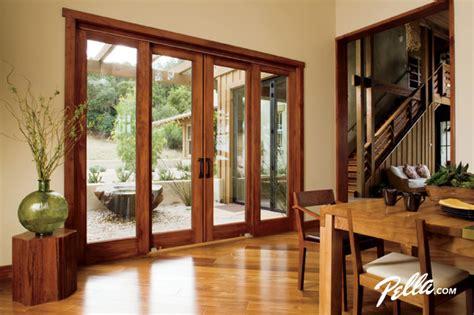 Dining Room Patio Doors Pella 174 Architect Series 174 4 Panel Sliding Patio Door