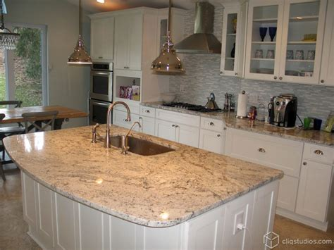 Granite Countertops Ideas Kitchen White Kitchen Cabinets Contemporary Kitchen