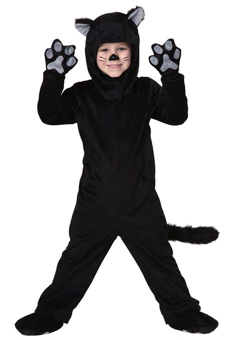 cat costumes toddler black cat costume