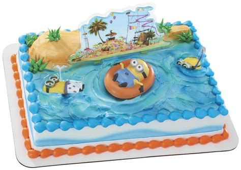 cake me despicable me birthday