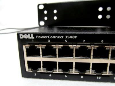 Switch Dell Networking 3548p dell powerconnect 3548p 48 port poe switch w eps 470 dell