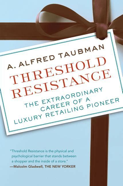 The Of Resistance Hardcover threshold resistance a alfred taubman hardcover