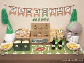 Grey House Colors football party ideas perfect for all ages moms amp munchkins
