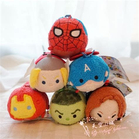 Thor Tsum Tsum Plush Mini 3 1 2 tsum tsum marvel plush soft toys spider thor for