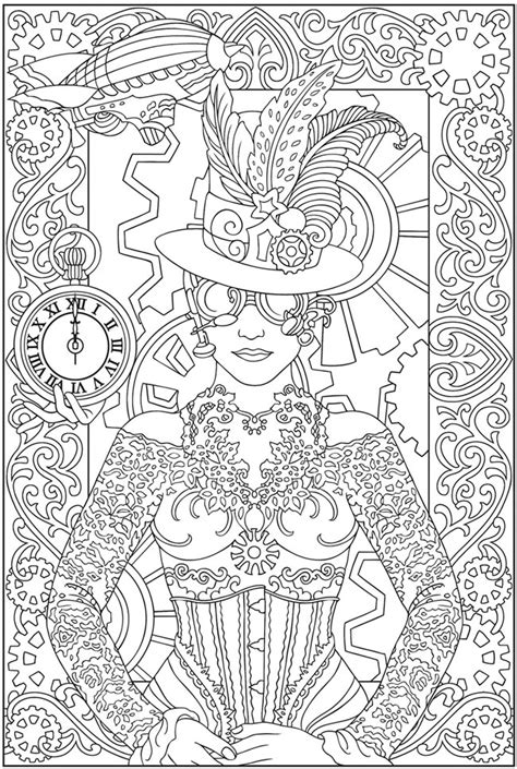 Art Nouveau Designs Coloring Pages Dover Coloring Pages Printable
